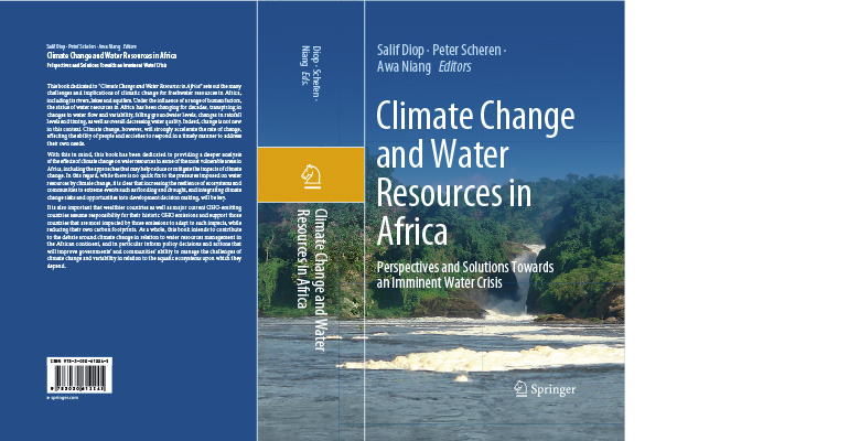 Climate Change and Water Resources in Africa - published in March 2021 by Springer-Nature